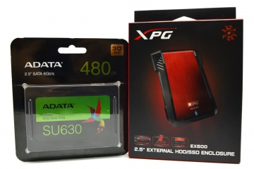 مراجعة وحدة XPG SX8200 Pro بحجم 512GB و و بروتوكول NVMe 1 3