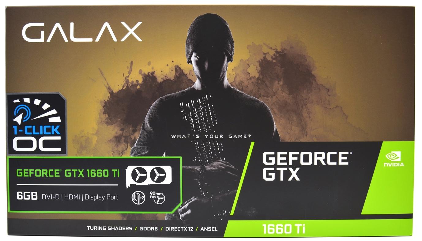 مراجعة بطاقة GALAX GTX 1660Ti 6GB (1-CLICK OC) - Darktech