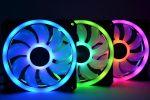 مراجعة مراوح iCUE QL120 RGB 120mm PWM من شركة Corsair