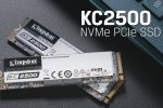 مراجعة وحدة KINGSTON KC2500 PCI-E 3.0 بحجم (1TB)  و بروتوكول NVMe 1.3